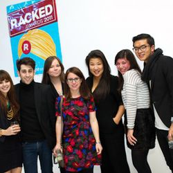 Team Racked from left to right: Associate editor Tiffany Yannetta, Chicago editor Jared Hatch, long-time contributor Cynthia Drescher, New York editor Izzy Grinspan, recently departed National editor Danica Lo, and writers Payton Wang and David Chen.
