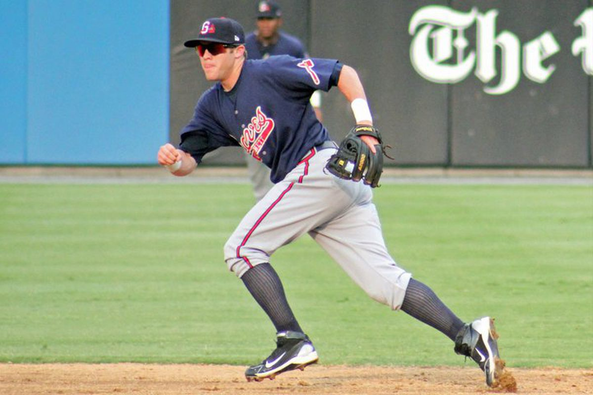 Even though he'll enter 2012 at just 22 years old, Tyler Pastornicky is on the cusp of becoming a productive Major Leaguer.