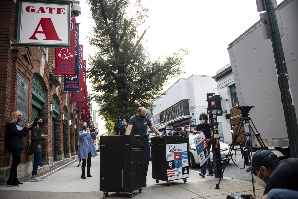 Early Voting Center To Open At Fenway Park