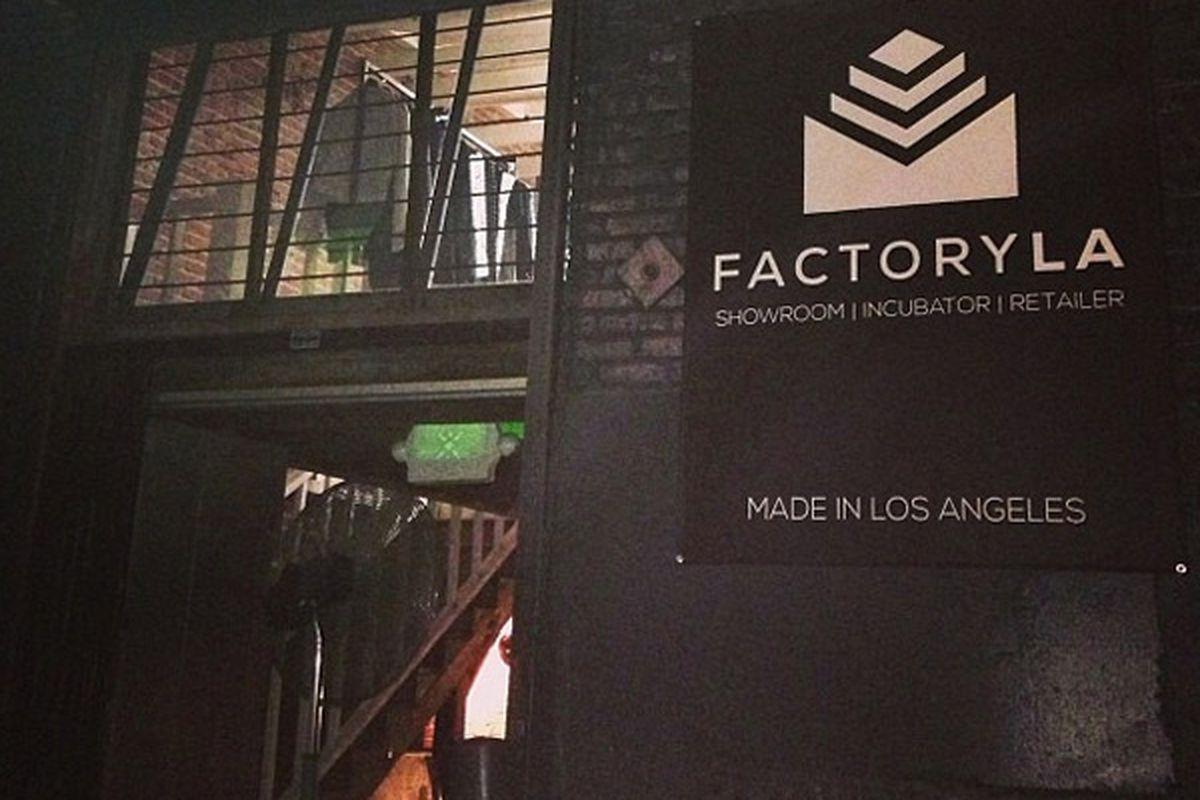 """Image via @factoryLA/<a href=""""http://instagram.com/p/fnobDQt395/"""">Instagram</a>"""