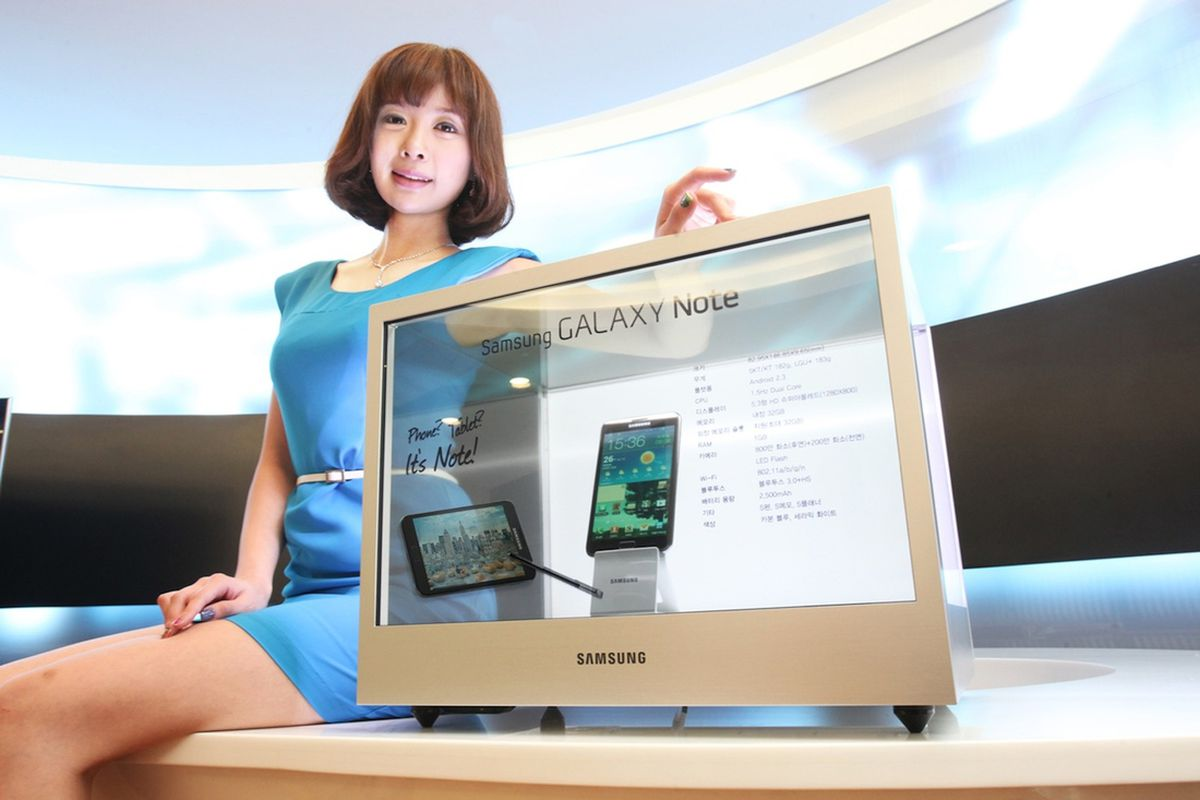 Samsung Commercial Displays >> Samsung To Bring Transparent Commercial Displays To Market In