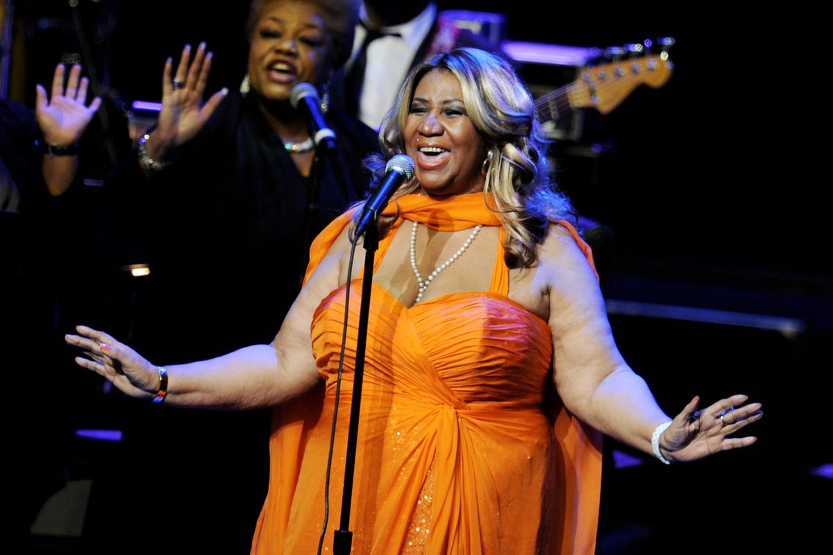 Aretha Franklin Performs At The Nokia Theatre L.A. Live