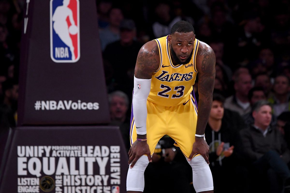 a9acbc7d0a8 LeBron James thinks the Lakers need to stop being comfortable with losing