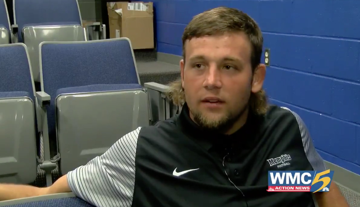 College Football Player On His Mullet Not A Haircut A Lifestyle