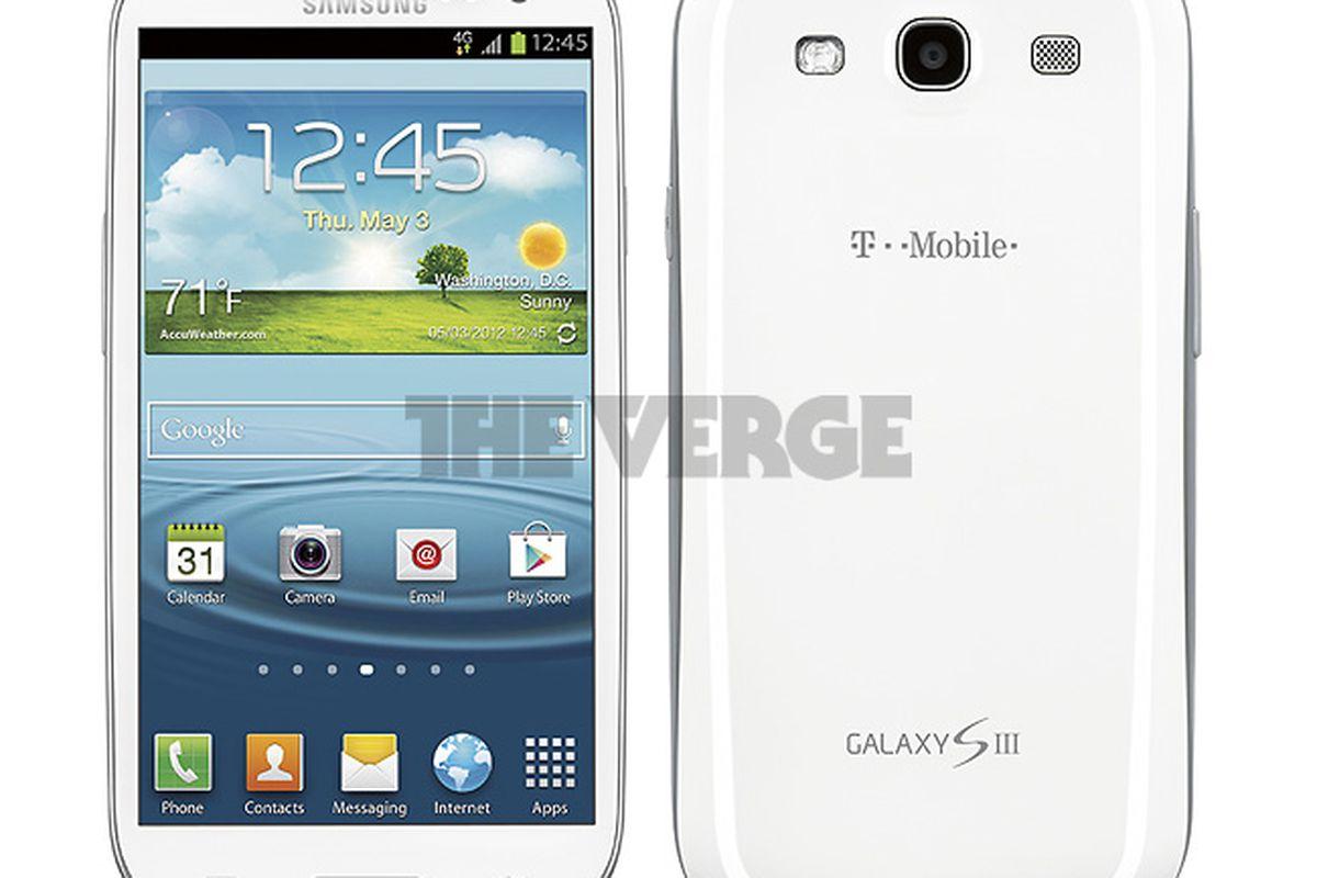 Galaxy S III (T-Mobile USA white)