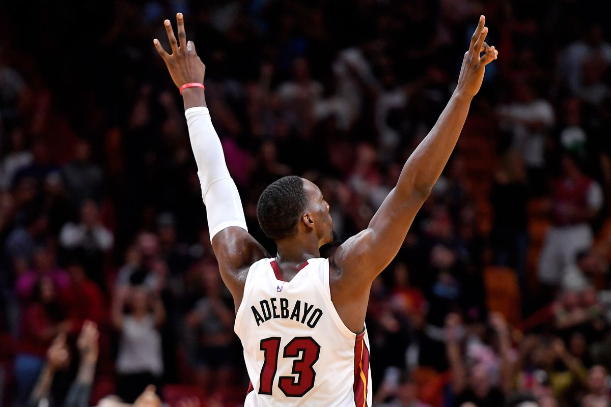 Miami Heat center Bam Adebayo named NBA Eastern Conference Player ...