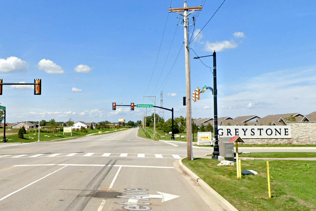 A man died after crash April 26, 2020, on Calumet Avenue near Greystone Drive in St. John, Indiana.