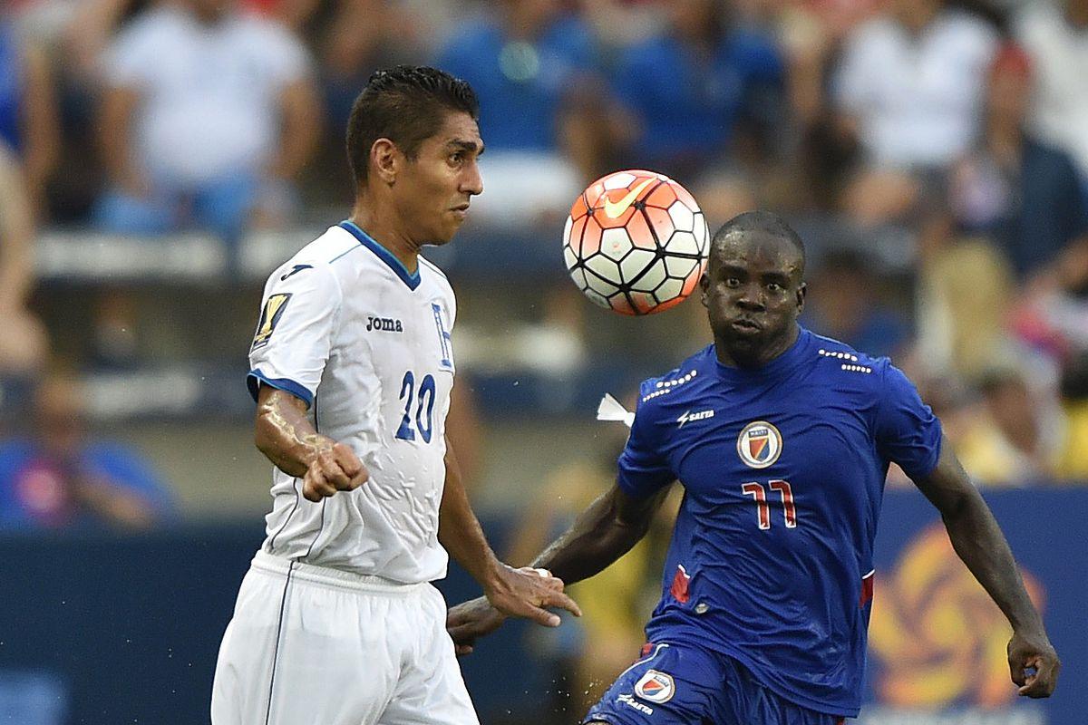 Soccer: Gold Cup-Haiti at Honduras