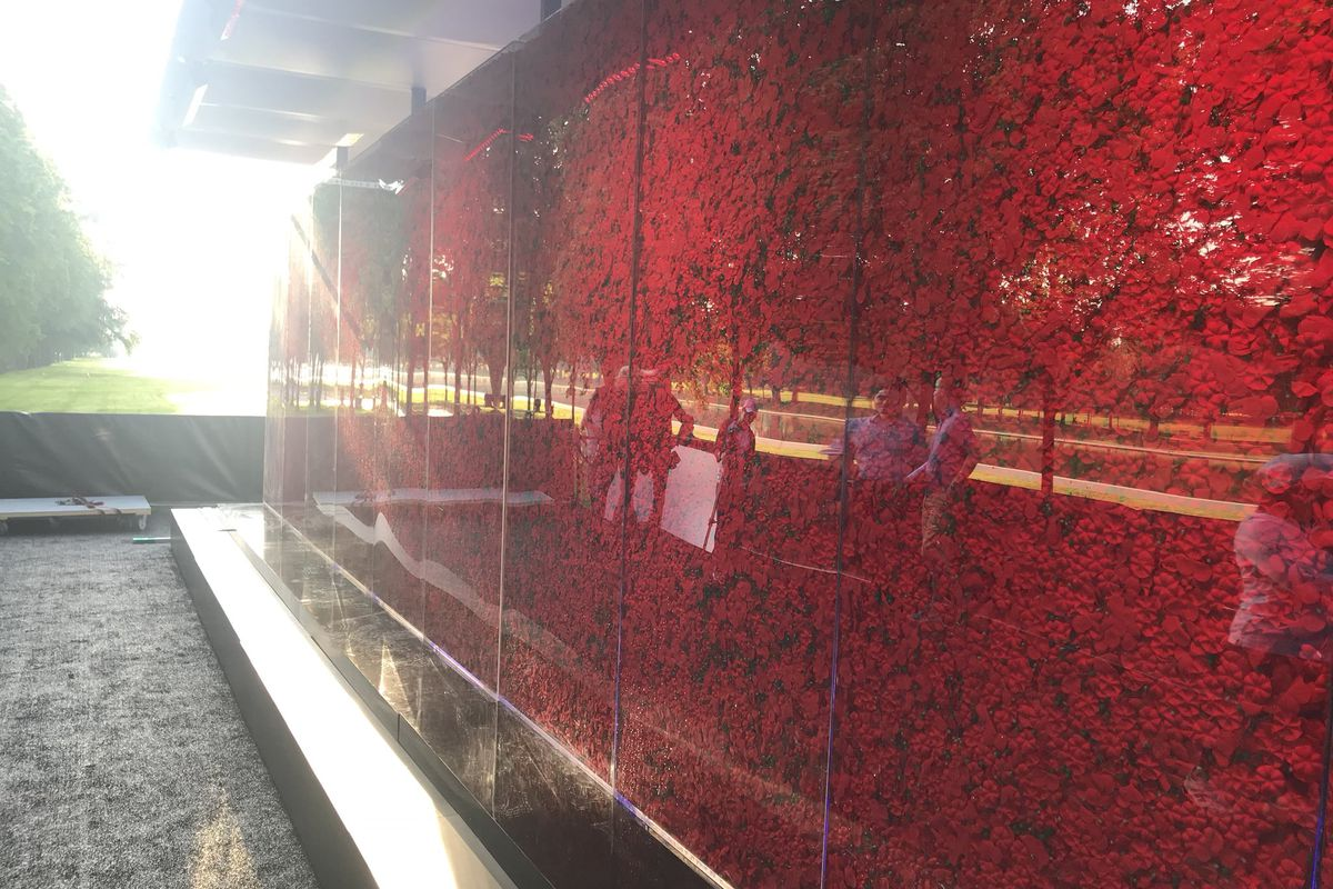 The Poppy Memorial Pops Up On The National Mall This Weekend Curbed Dc