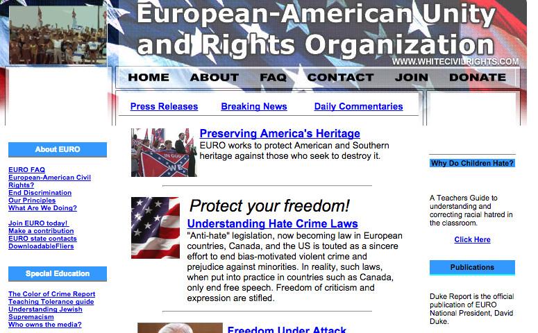 EURO website 2002