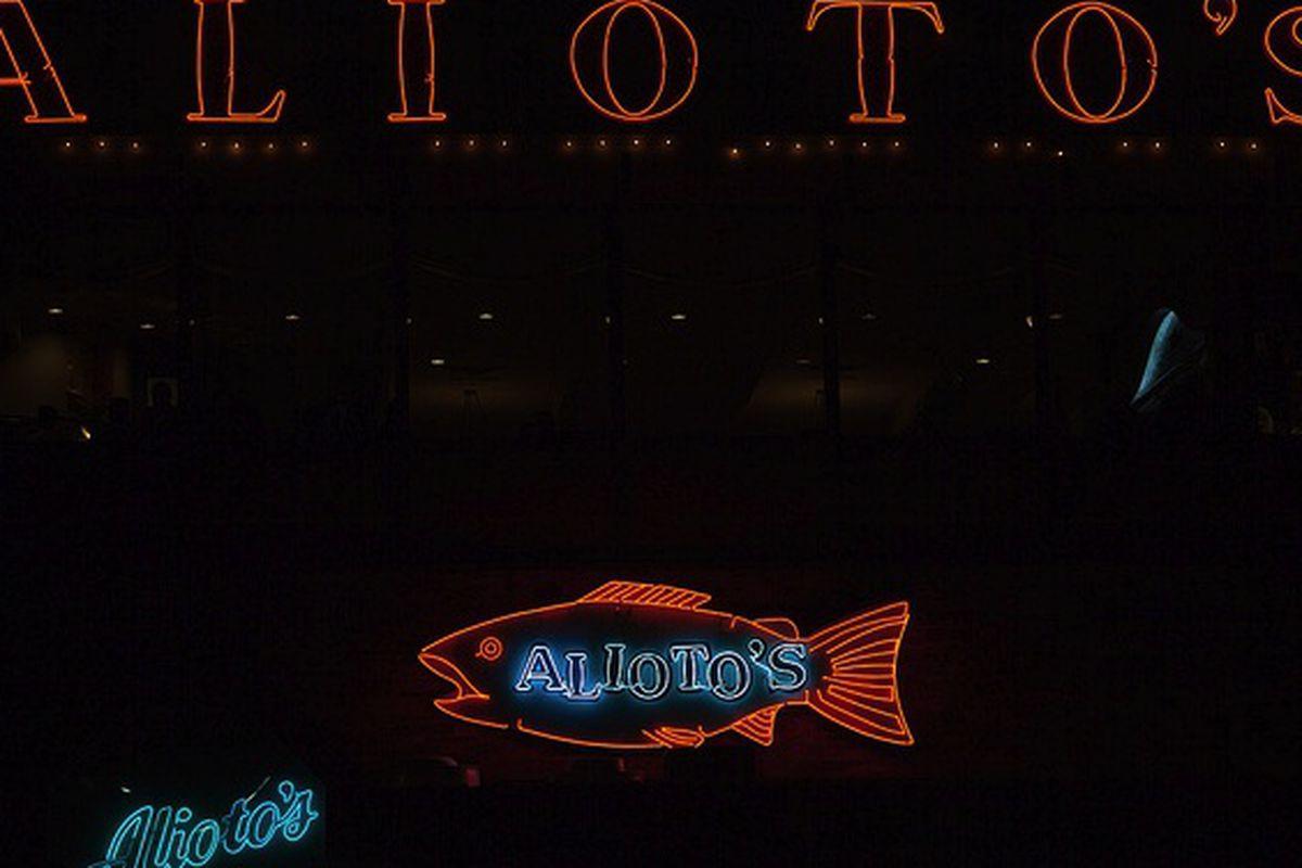 Alioto's.