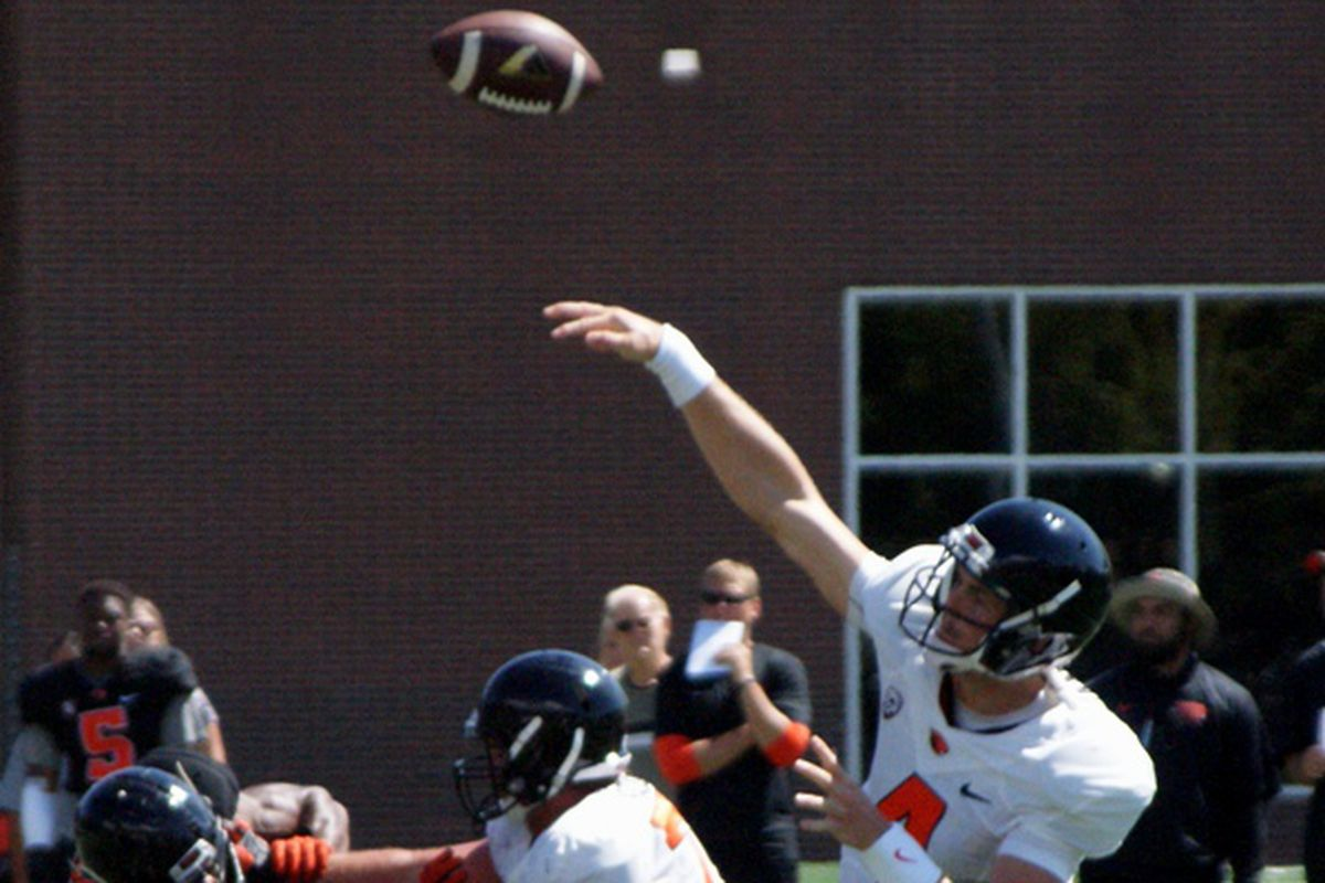 Sean Mannion throwing the ball is obviously something to watch in the Oregon St. opener, but there are other things to watch for too.