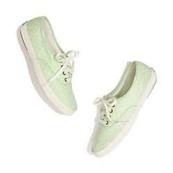 """<strong>Keds x Madewell</strong> Polka Dot Sneaker, <a href=""""http://www.madewell.com/AST/Navigation/Sale/AllProducts/PRDOVR~87406/99102996828/ENE~1+2+3+22+4294967294+20~~~0~45~all~mode+matchallany~~~~~keds/87406.jsp"""">$62</a>"""