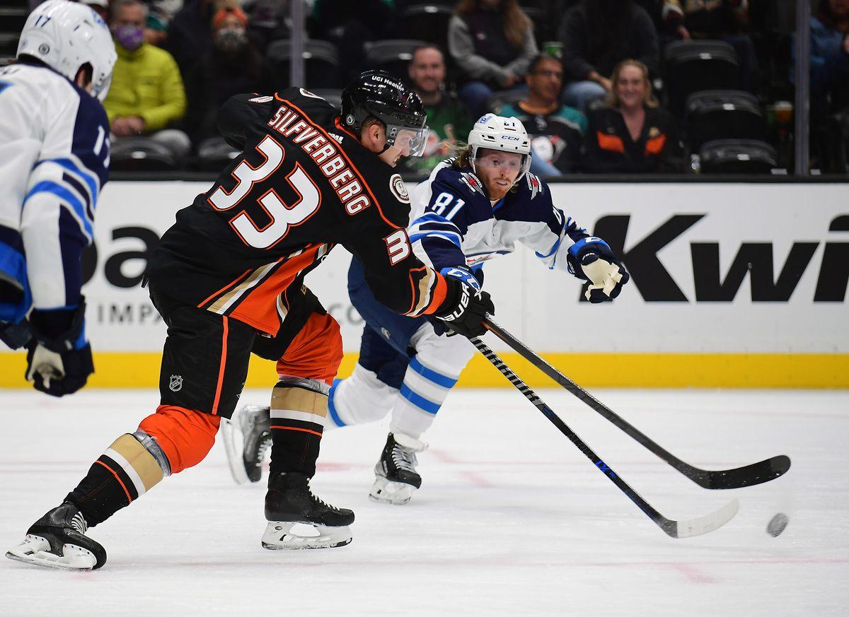 NHL: Anaheim Ördeklerinde Winnipeg Jetleri