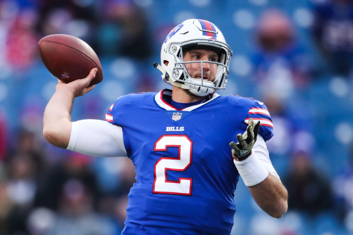 Nathan Peterman Starting for Bills Over Tyrod Taylor is a Real Stunner