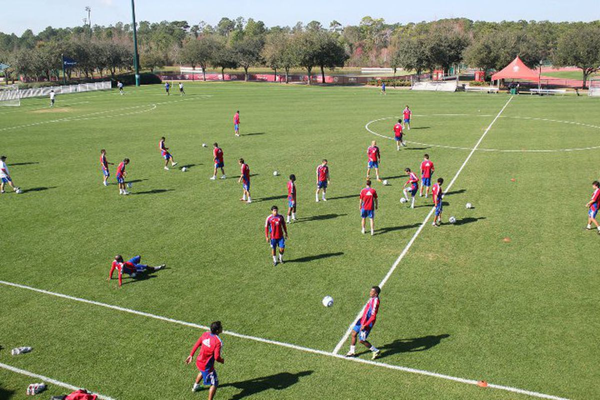 The bubble is slowly beginning to burst on a few fringe players. (Photo via FC Dallas)