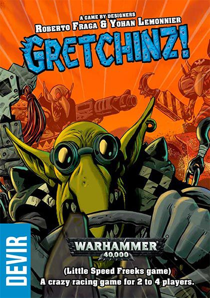 Gen Con 2018 — Cover art for Gretchinz, from Devir.