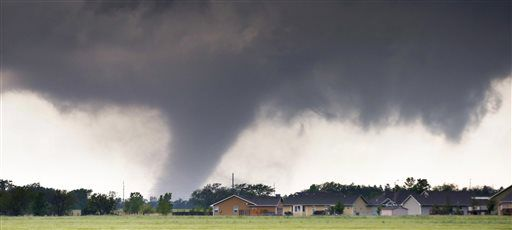 """One injury and some damage was reported in connection to a """"probable tornado"""" Sept. 3, 2019."""