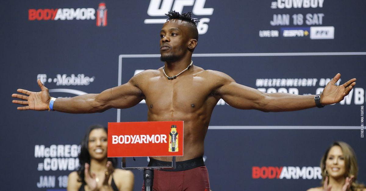 Ode Osbourne welcomes fellow DWCS standout C.J. Vergara at UFC 268