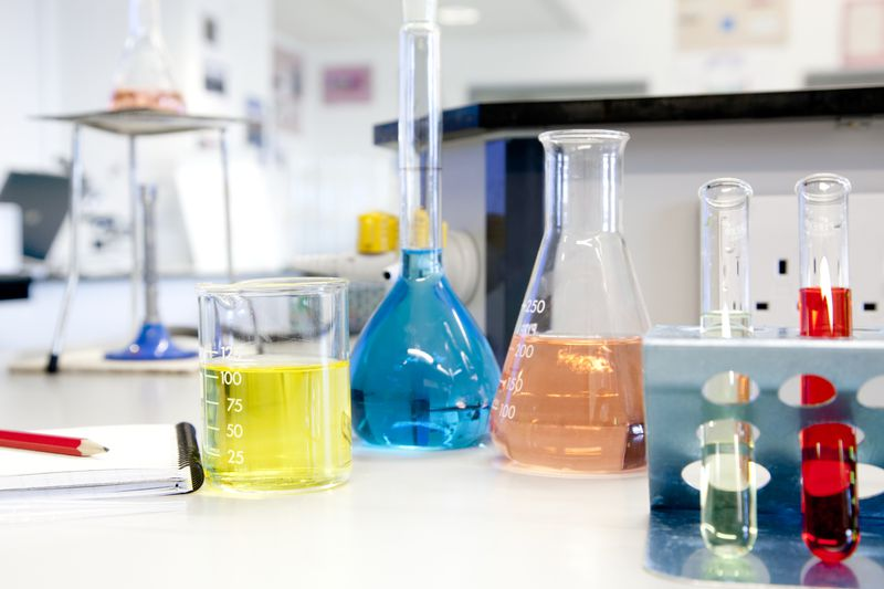 Science classrooms may not have all of the laboratory equipment necessary to give students the best education.