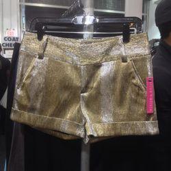 Metallic shorts, $79 (were $198)