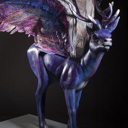 """""""Angel Reindeer"""" by Colette Miller."""