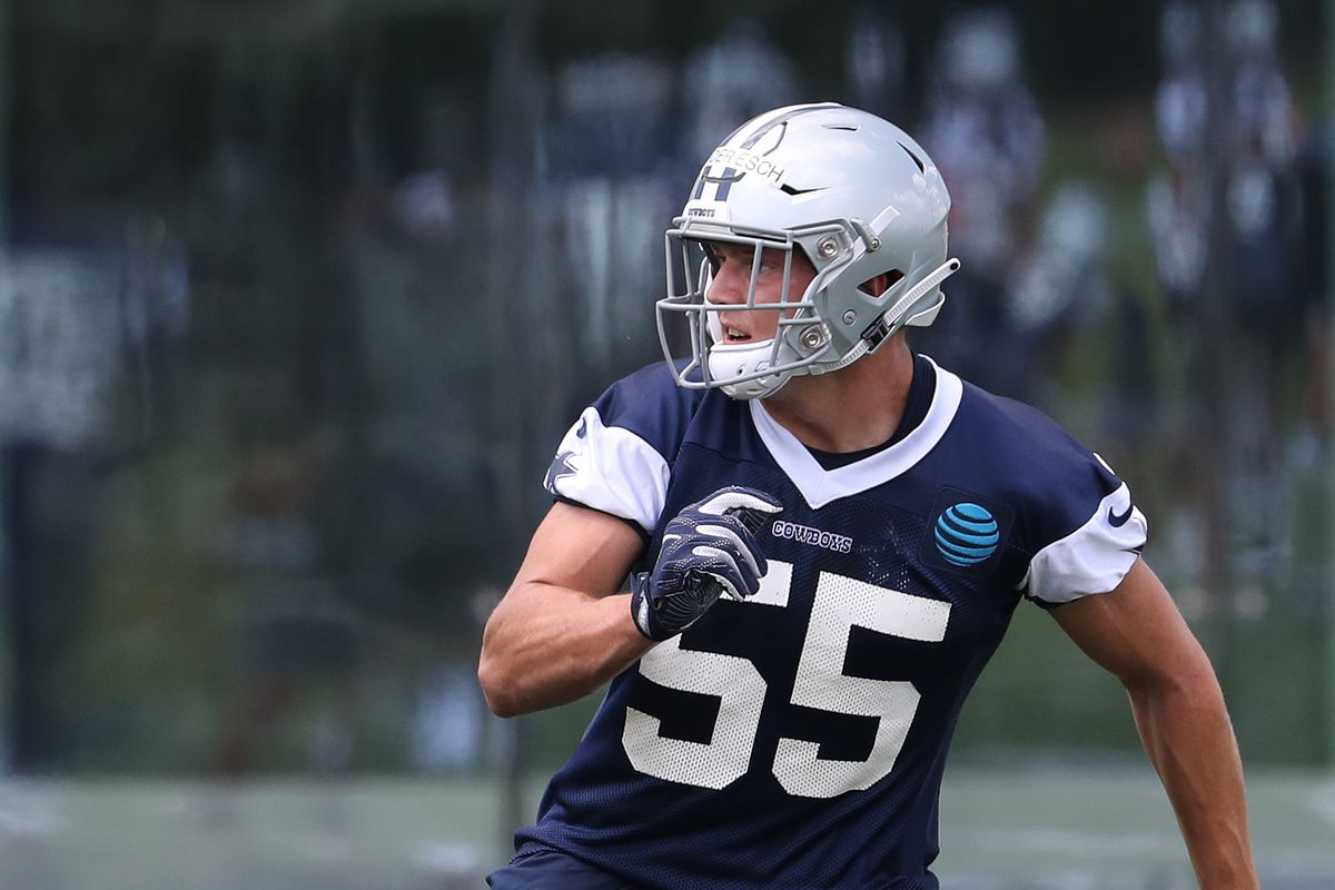 58dc90f4019 Cowboys Q&A: Leighton Vander Esch's availability? Who will lead the Cowboys  in catches this season?