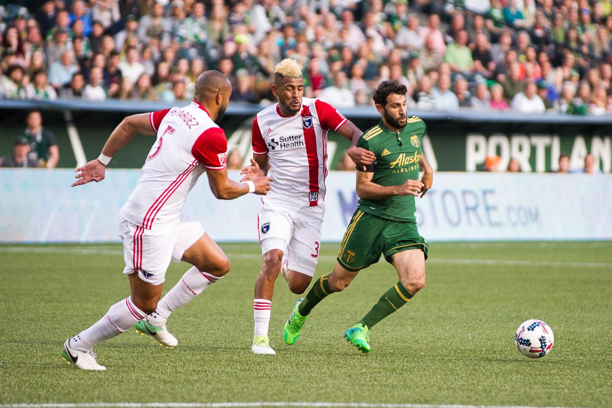 SOCCER: JUN 02 MLS - San Jose Earthquakes at Portland Timbers
