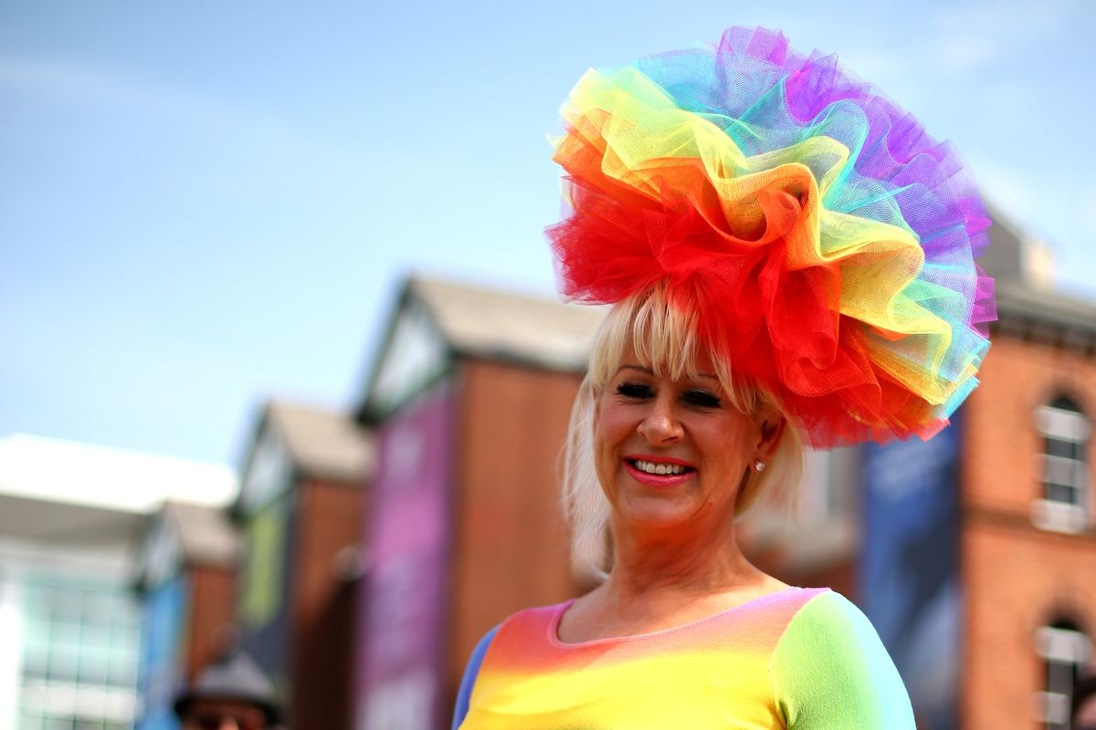 This has nothing to do with anything other than that Ladies Day at the Aintree Grand National was on Friday and I wanted to look at some fun hats.