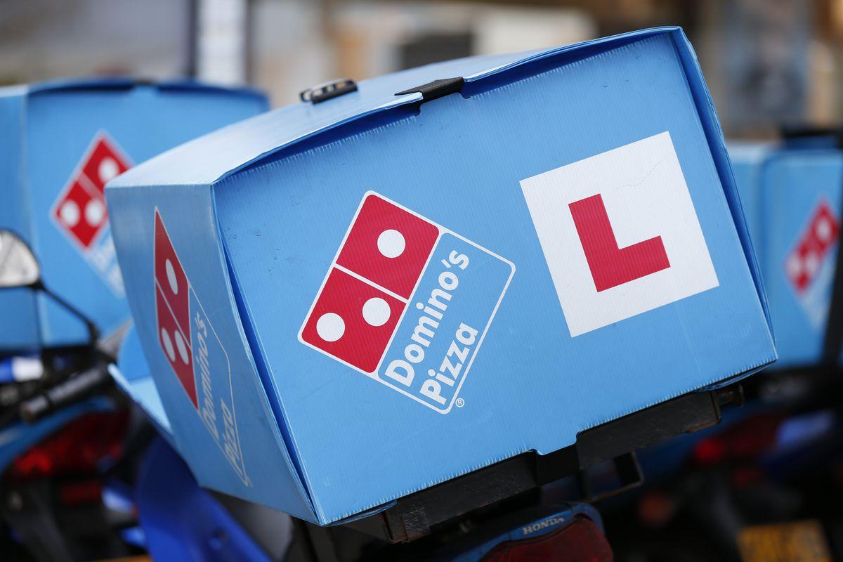 Domino's Pizza delivery bike