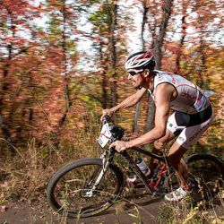 Josiah Middaugh finished two minutes ahead of his nearest competitor to take the XTERRA USA Championship.
