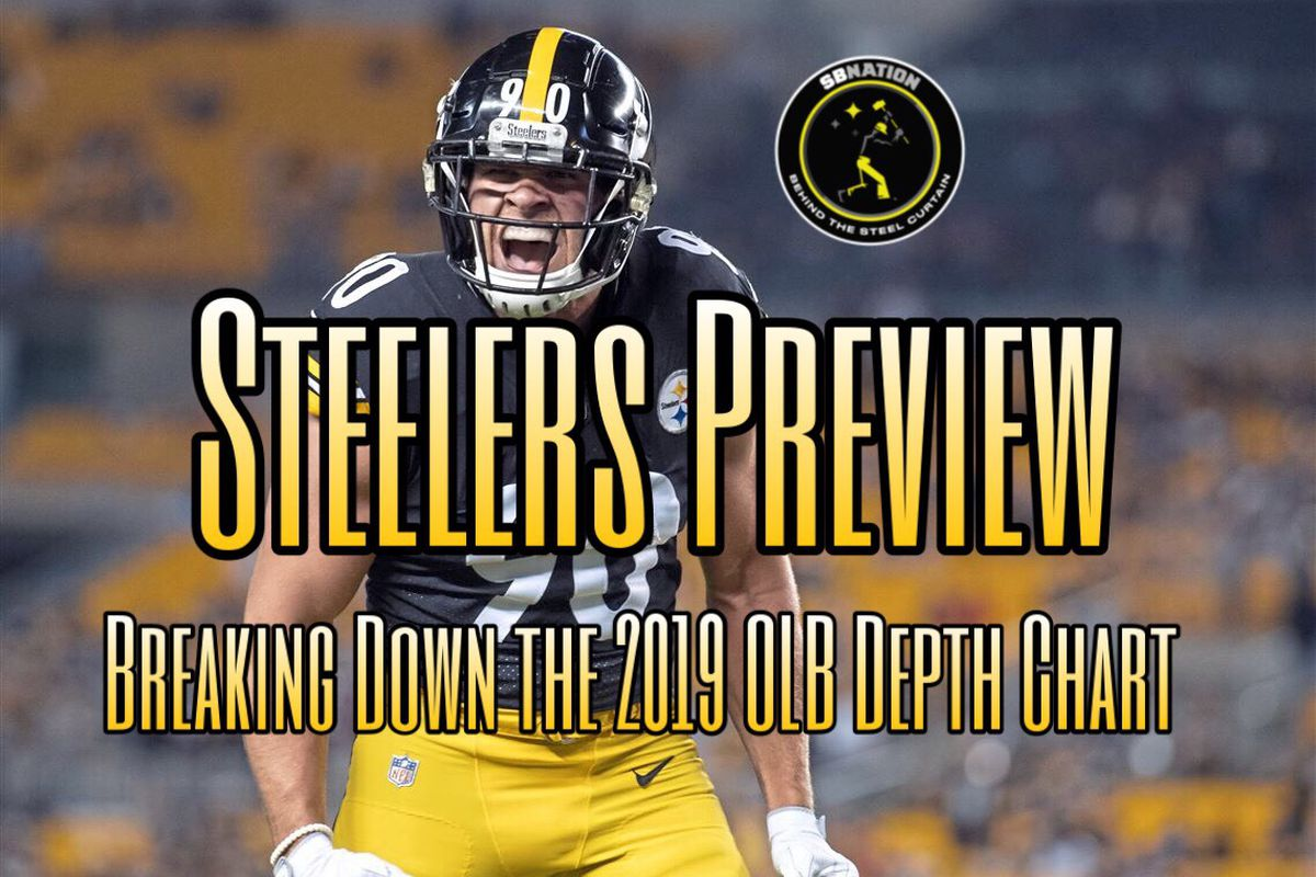 fa983811a Podcast  Previewing the Steelers 2019 Depth chart — Outside ...