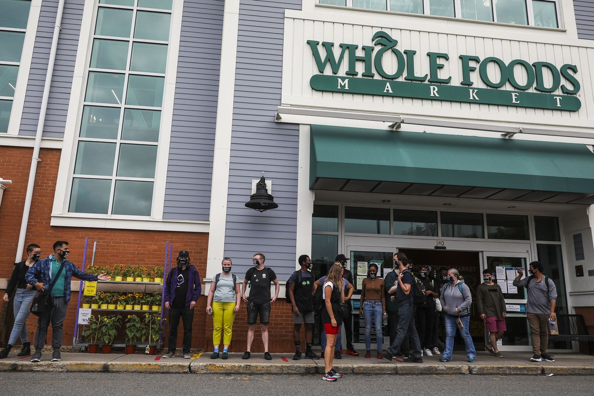 Whole Foods Employees Stage Walkout After Being Dismissed Wearing BLM Masks