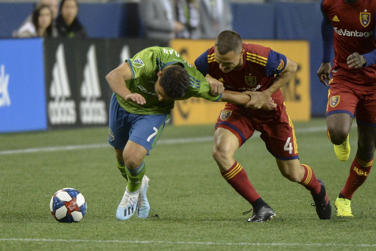 SOCCER: OCT 23 MLS Cup Playoffs - Real Salt Lake at Seattle Sounders FC