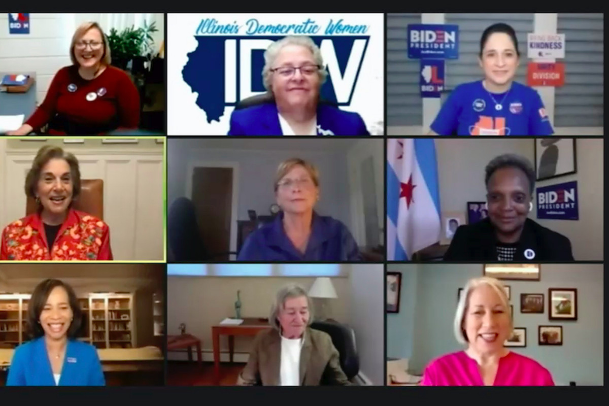 Illinois Democrats hold a virtual program ahead of the second night of the Democratic National Convention