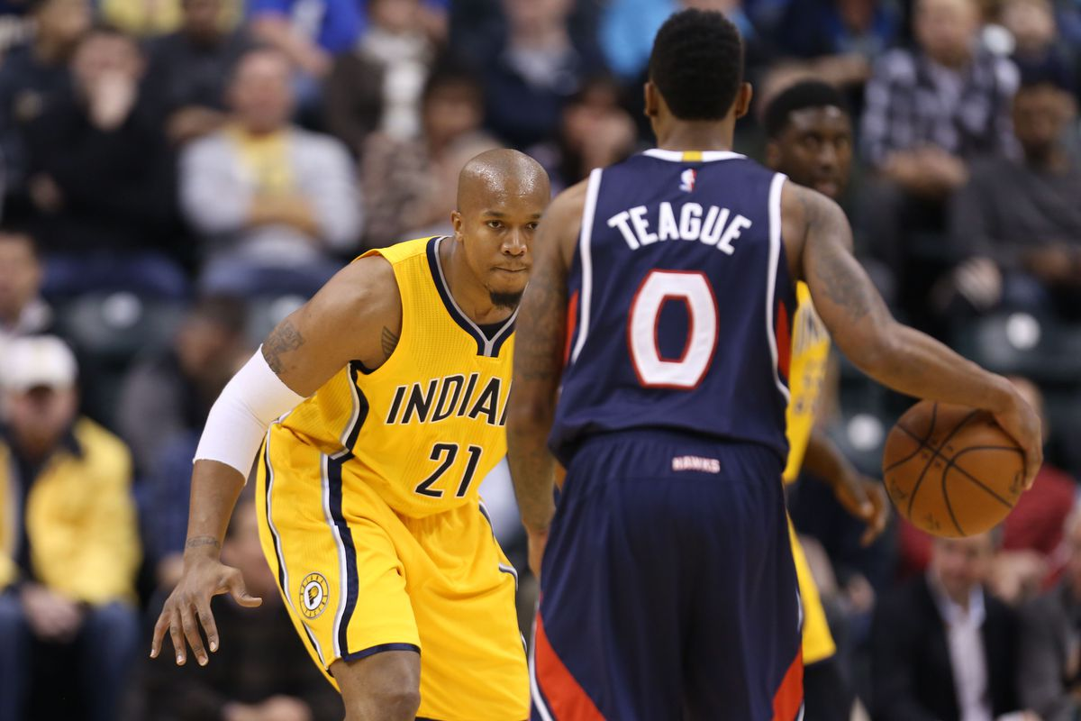 David West s most David West moments with the Indiana Pacers