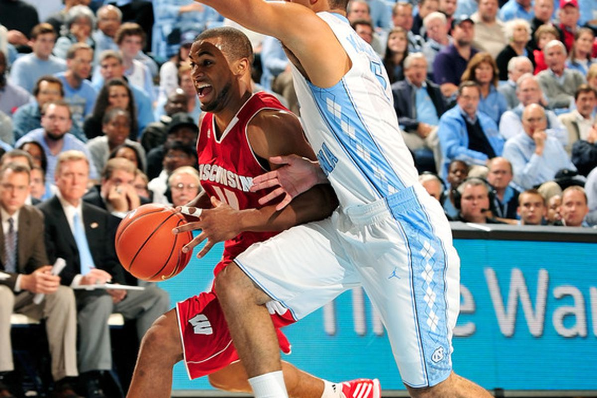It was a frustrating day for Jordan Taylor, but the Badgers still played an extremely tough game against one of the top teams in the nation in Chapel Hill. Wisconsin fell to North Carolina, 60-57.