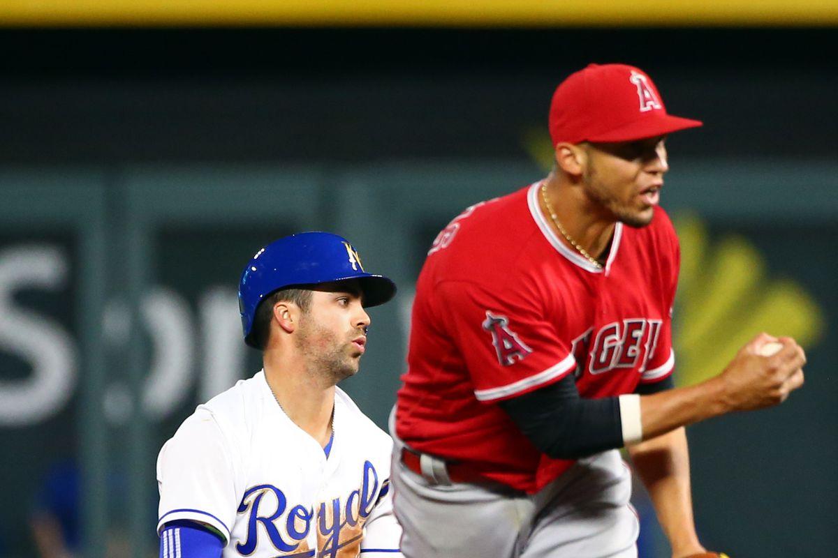 MLB: Los Angeles Angels at Kansas City Royals