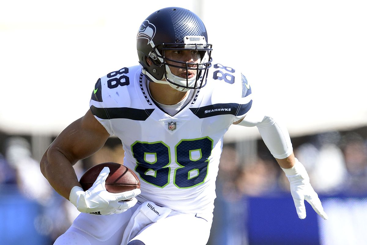 Jimmy Graham was not a tight end on Sunday Field Gulls