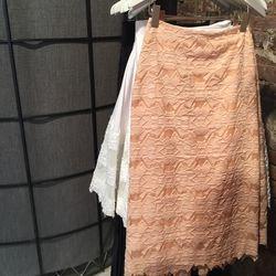 Jonathan Simkhai Burnout Brocade Pencil Skirt ($304.50)