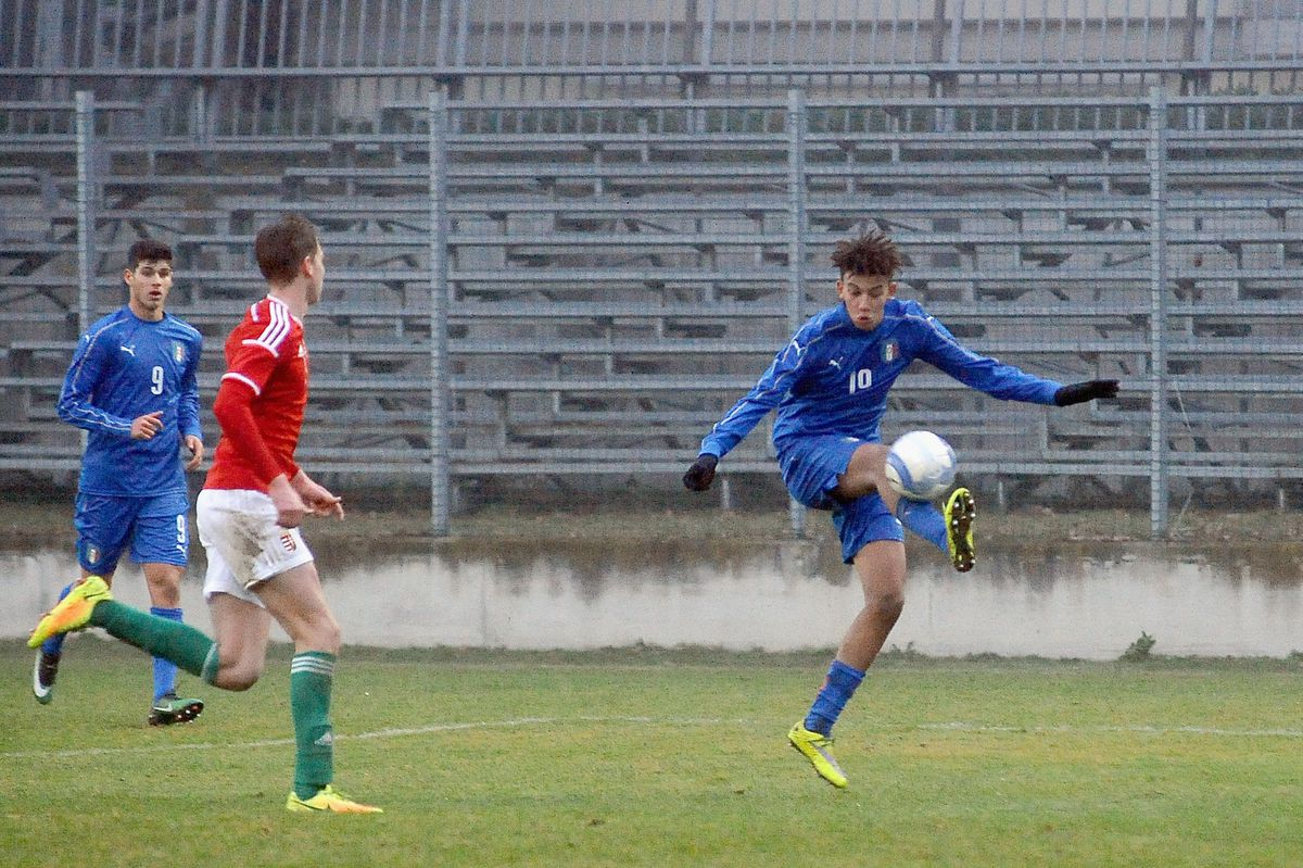 Italy U17 v Hungary U17 - International Friendly