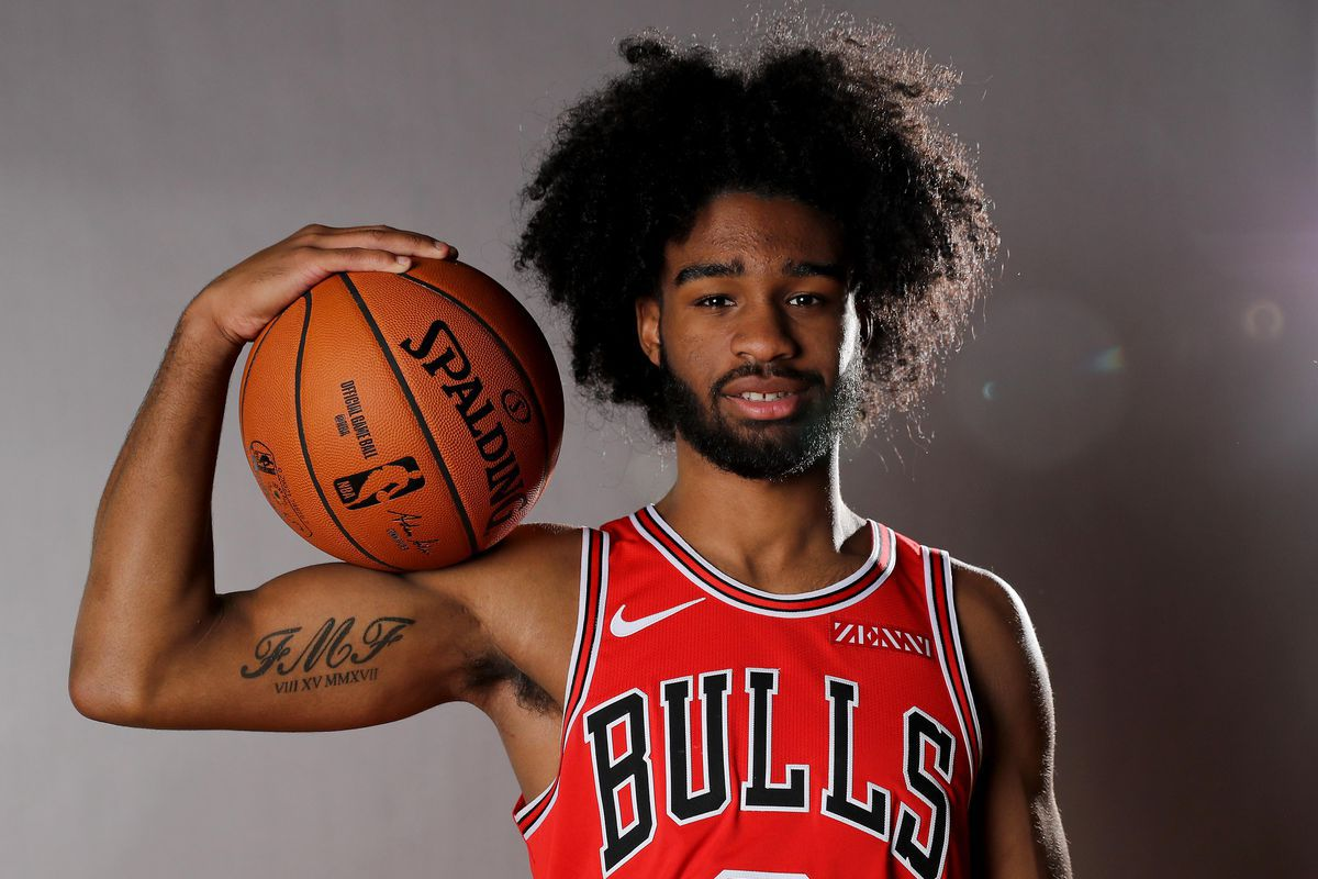 """""""I think it's just me continuing to get reps in and continuing to play,'' the Bulls' Coby White said. """"Me being down on myself throughout the game because I have a bad start isn't helping my teammates at all or helping my team."""""""