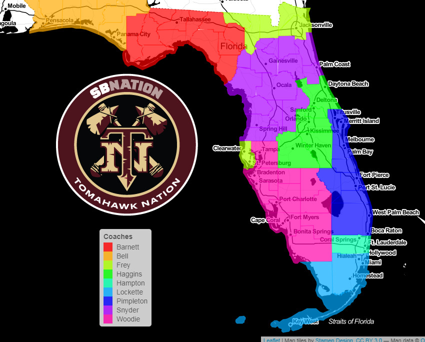 Recruit Map