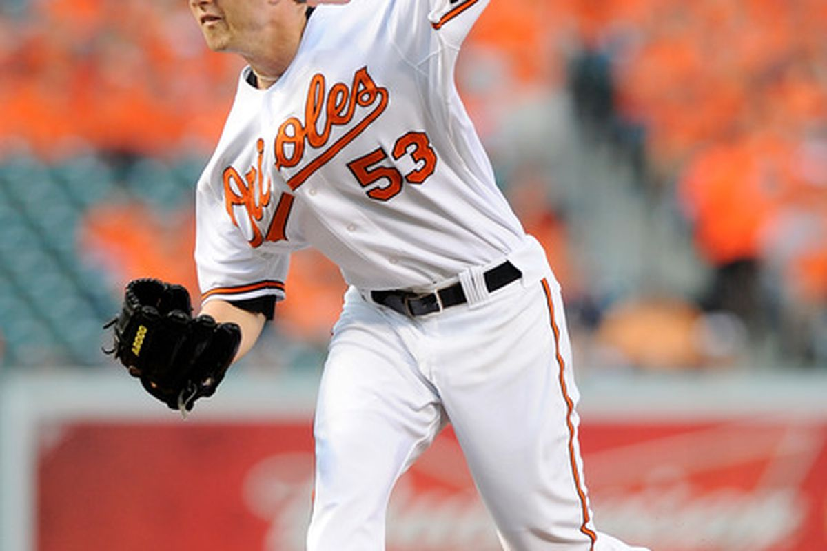 Zach Britton of the Baltimore Orioles (Photo by Greg Fiume/Getty Images)