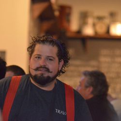 Mike Brown, chef and co-owner of Travail/Pig Ate My Pizza in Robbinsdale, MN [Photo provided by Mike Brown]
