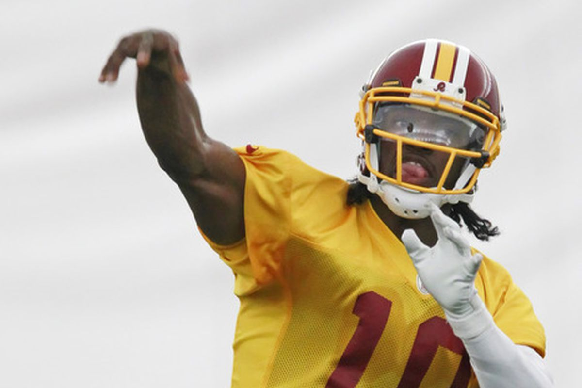 Will RG3 spread the wealth in 2012?