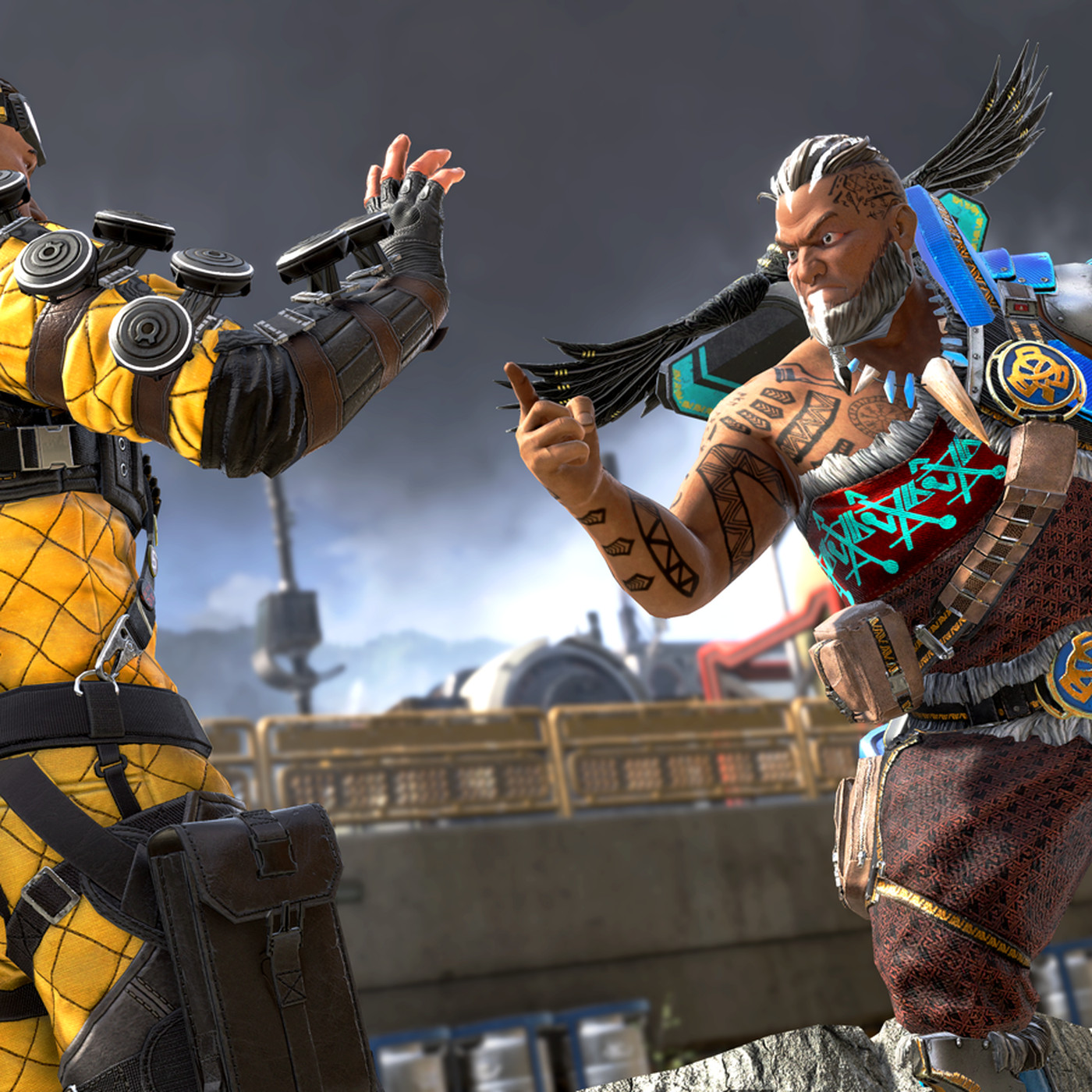Apex Legends update brings a new area, new skins, and solo