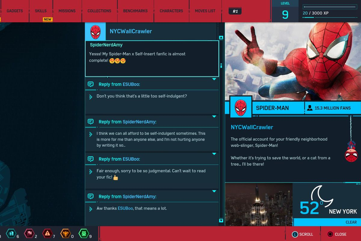 Spider-Man's in-game version of Twitter is amazing - Polygon
