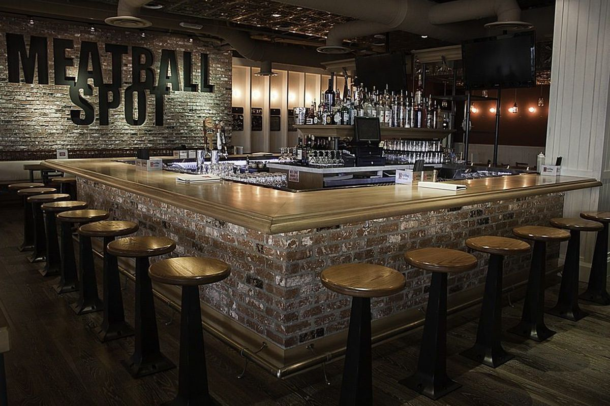 A look at the bar at Meatball Spot.