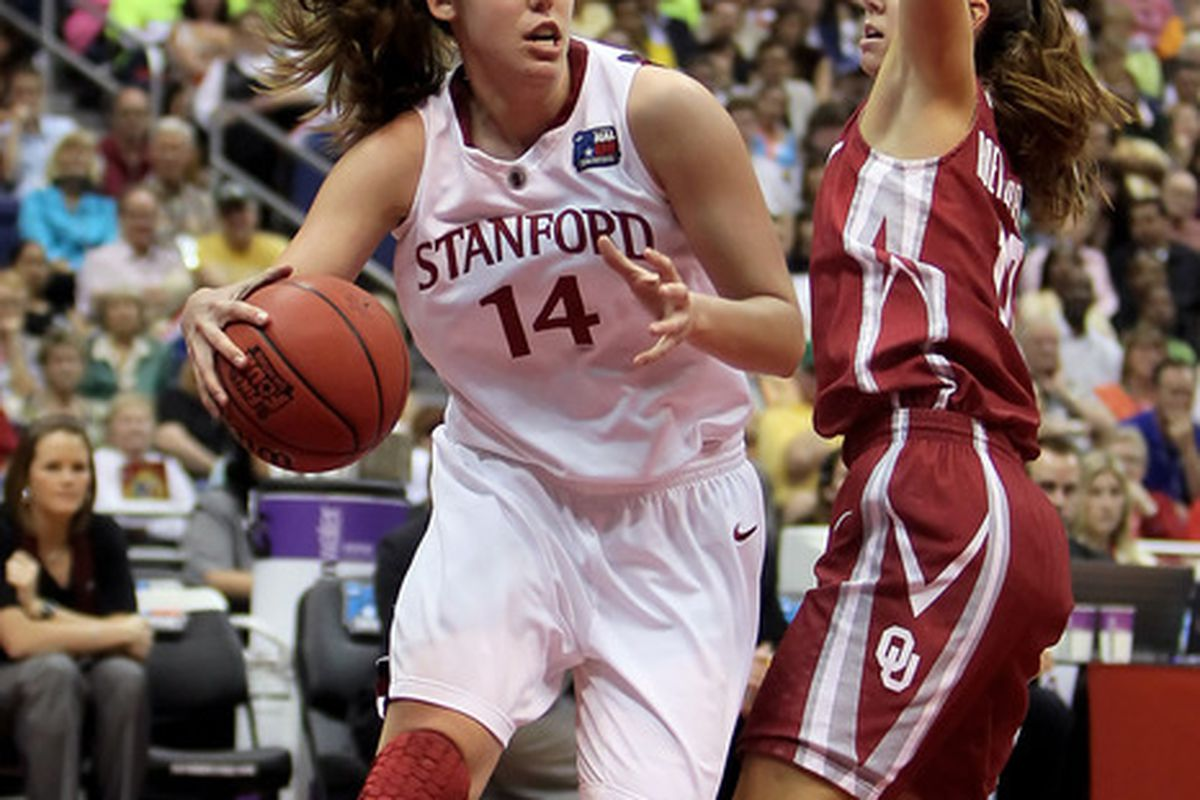 Stanford senior Kayla Pedersen was taken 7th overall by the Tulsa Shock in the WNBA draft.